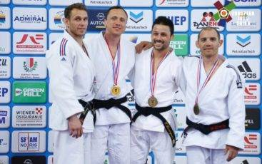 Eric Domingues conquista bronze no CE Veteranos 2016
